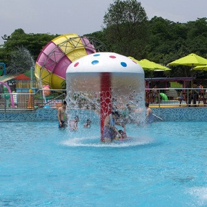 Splash Park Fiberglass Water Games Equipment for Kids Play
