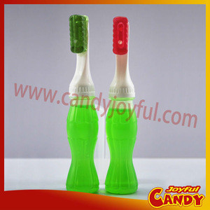 Toothbrush sweet liquid candy