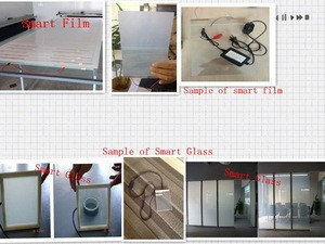 White film /switchable smart PDLC film for window /car window