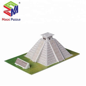 Wholesale Mystic Maya Pyramid 3D Building Puzzle Board Game