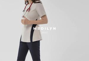 Women's and Stylish Medical Scrubs Nursing Uniform  Best Quality