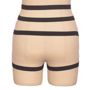 Women's Polyester Punk Rock Waist Cincher Belt Harness Skirt Adjustable Leg Garter Belts Suspenders