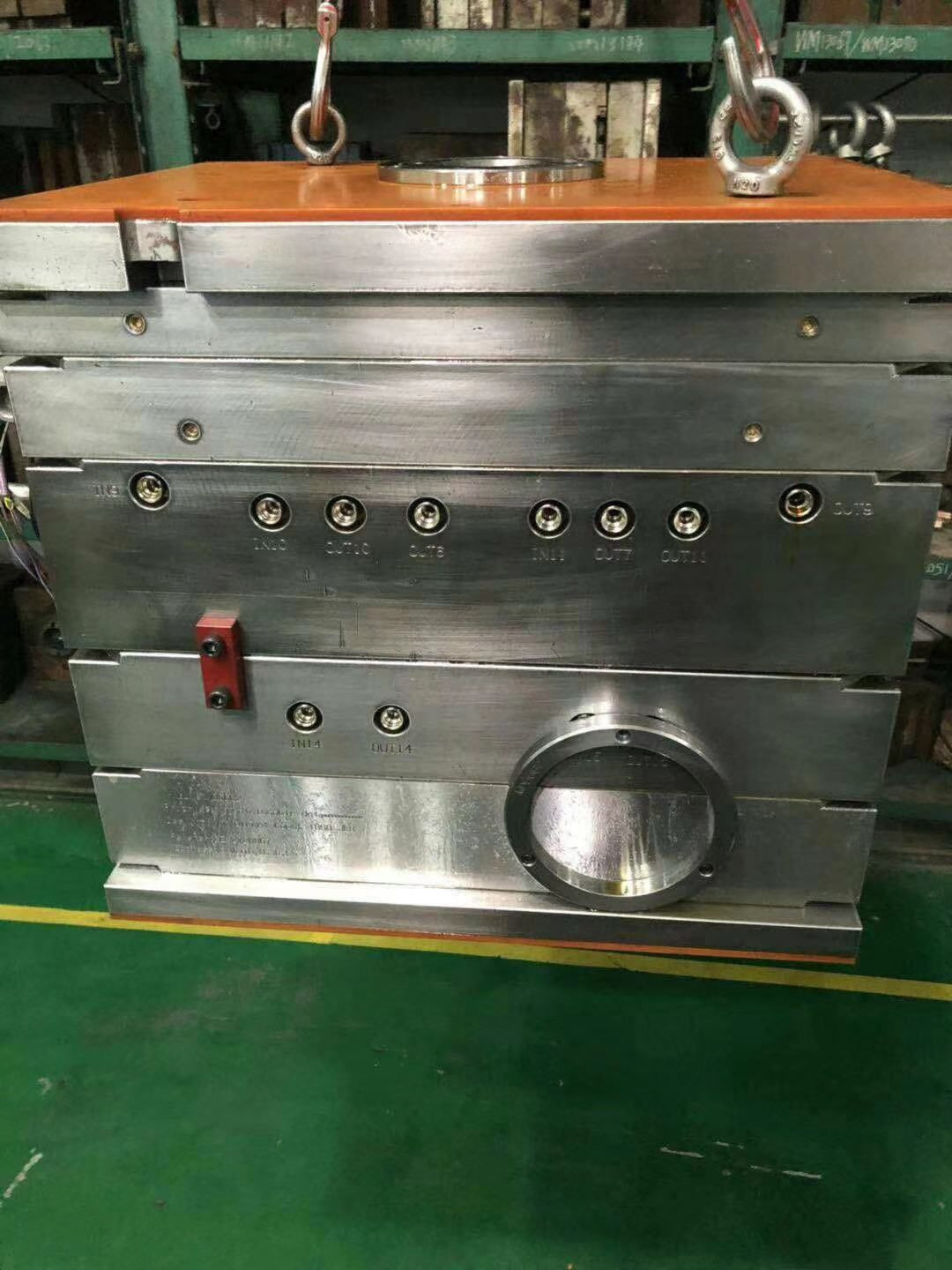 Custom Plastic Mold for Electronic Components