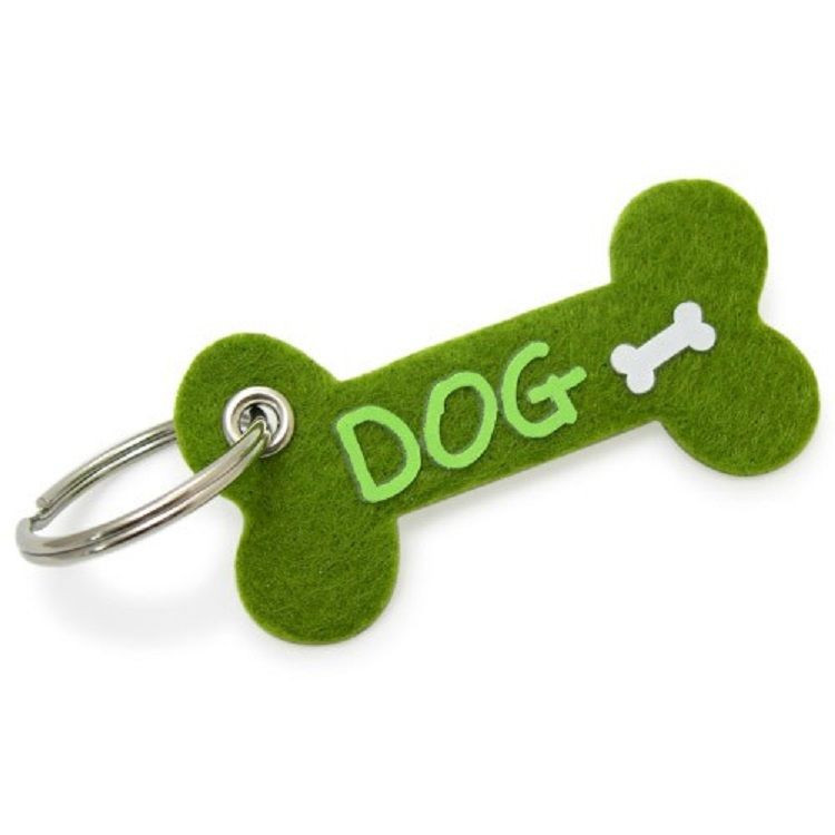 Promotional gift cute felt keychain/key chain honlder