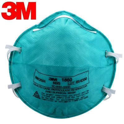 3M 1860 mask,FFP2 N95 cone medical disposable mask, 7-3 layers mask
