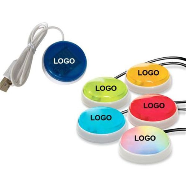 Plastic USB Smart Button with Web Key
