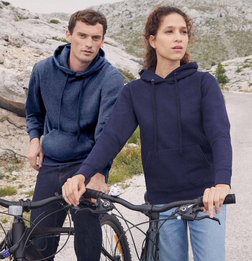 Classic hooded cotton sweatshirt men and women hoodies