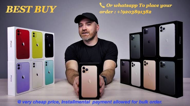New Unlocked 11 PRO Max / 11 PRO / 11 / Xs Max / Xr 20% wholesale discount prices.