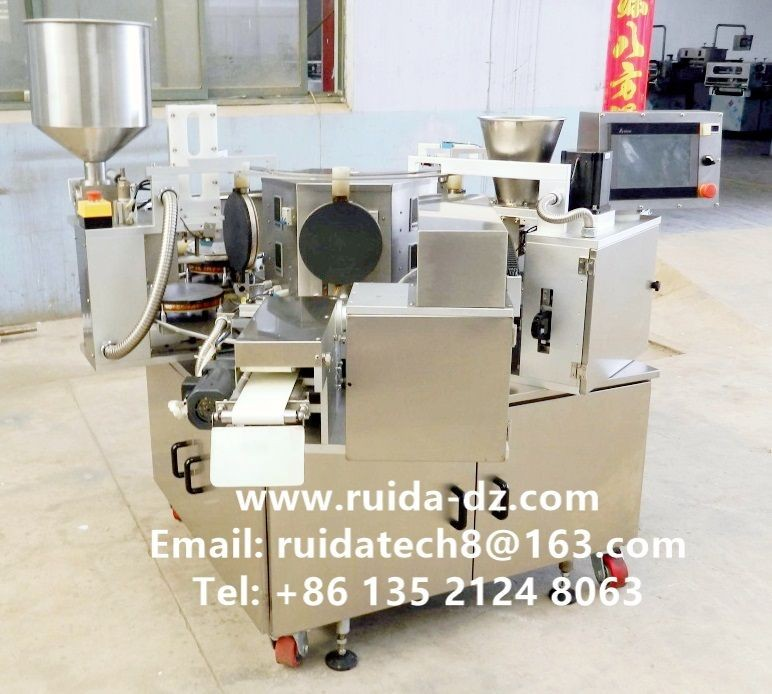 Stainless Steel Egg Roll Forming Machine/ Crispy Biscuit Egg Roll Machine