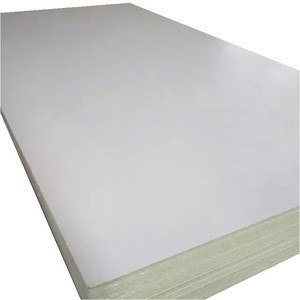 18mm thick white melamine faced chipboard with PVC edge banding for cabinet design
