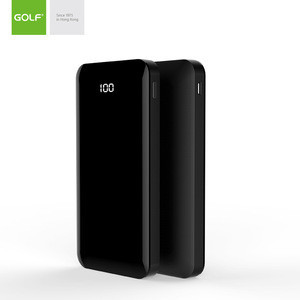 2018 newest technology consumer electronics 10000mah fast charging power banks with dual way input