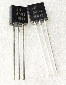 2N5551 2N5401 5551 5401 TO-92 Bipolar Transistors - BJT PNP Gen Pr Amp