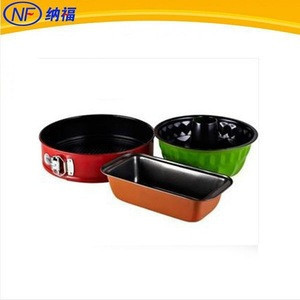 3pcs sets springform pumpkin shape loaf pan sets bakeware sets