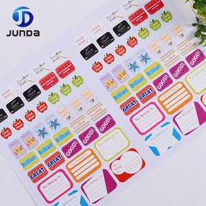 Cheap factory price custom hotel logo sticker/lable PVC clear printing sticker printing manufacturer