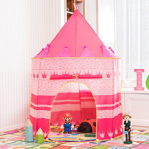 Children's Princess Tent Game House Girls Super Mongolian Toy Castle Baby Folding Indoor Tent
