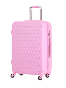 Chinese factory outlet abs pc luggage bags carry on luggage bags