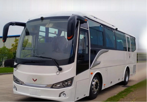 Comfortable Diesel Engine 40-Seat 9-Meter Highway Luxury Coach Bus Low Price Tourist Bus Coach Manufacturer and Supplier