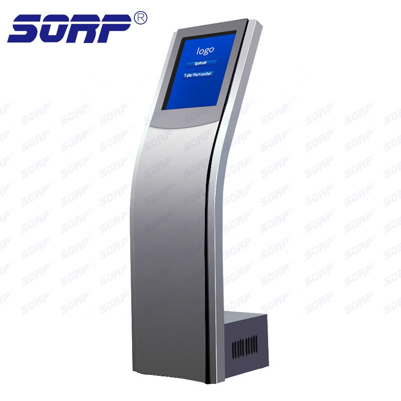 Cost-effective queuing management calling machine for bank