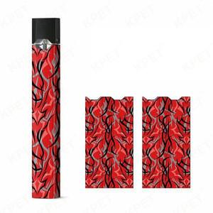 Custom 210 Styles Electronic Cigarette Sticker Protective Sticker JUUL Case/Decal/Wrap/Skin/Sticker