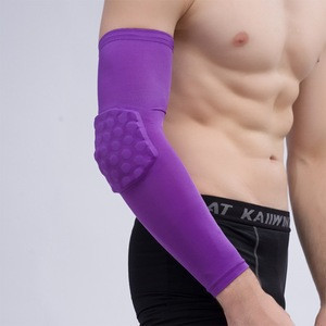 Customized Color Honeycomb Elbow Support For Badminton