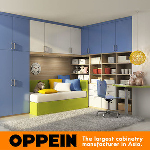 E1 Environmental Standard Wooden Kid Bedroom Furniture Set