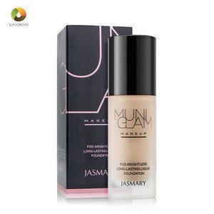 Factory price makeup base type whitening moisturizing  matte foundation makeup liquid
