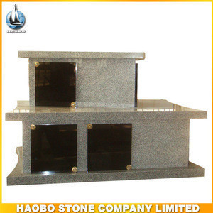 Granite Monument for cremation urns with special design