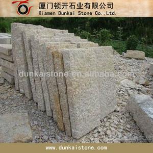 Granite stone pillar fence