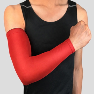 Gym elastic antiskid badminton tennis cover  arm sleeve elbow support