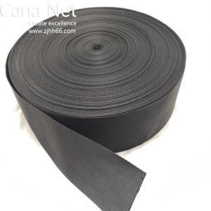 High quality custom 100mm width 1mm thick, custom webbing straps