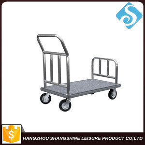 Hotel Stainless Steel Luggage Cart