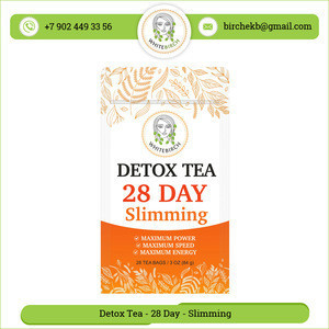 Huge Demand Best Taste 28 Day Slimming Detox Tea