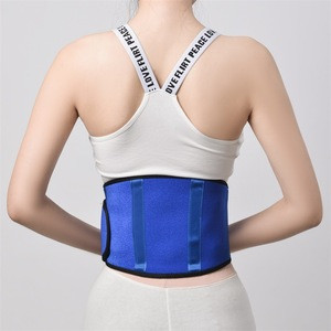 Magnetic waist support and magnetic back support belt with aluminum support bars