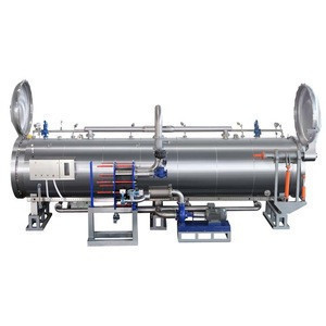 New designed food autoclave sterilizer for canned food