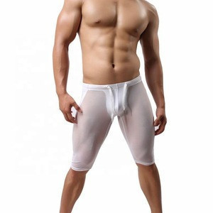 OEM Whole Sale  Swim Shorts For Men  Boxer Briefs Bathing Swimming Short Pants