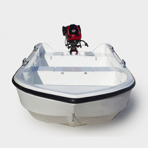 Original Cheap Flat Bottom Fiber Glass Work Boat Fishing Vessel Boat