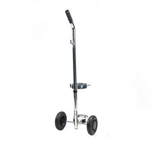 Oxygen Cylinder Trolley Stainless Steel Rehabilitation Therapy Supplies Bathroom Safety Equipments