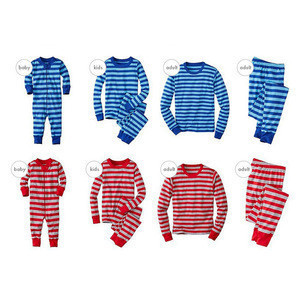 Personalized Stripe Family Christmas Pajamas