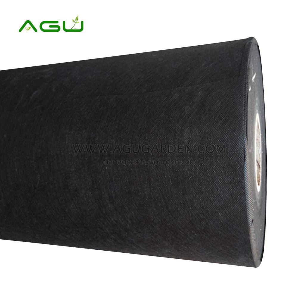 Plastic black polypropylene non woven fabric with cheap price