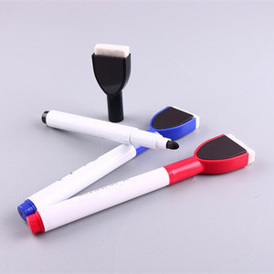 Promotional whiteboard marker with eraser
