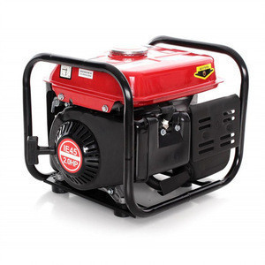 RED 12v dc Portable silent Power small gasoline gas 950 manual brushless dc generator