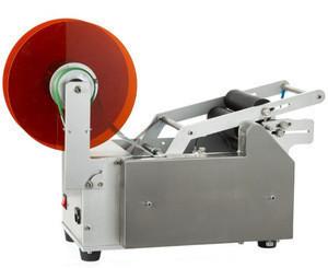 Semi automatic round bottle labeling machine sticker labeling machine