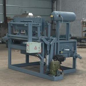Shoe tree making small waste paper moulding machine