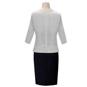 Singapore Best Selling Stylish Professional Custom Ladies Workwear Blouses Women Bank Uniform Designs