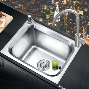 Single bowl stainless steel 304 high quality undermount kitchen sink