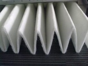 Synthetic coarse air conditioner filter cloth