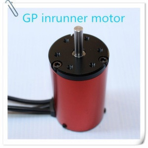 Toy parts 3650 brushless dc motor for rc hobby car