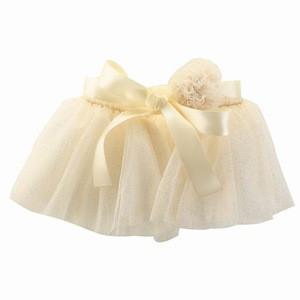 TUTUMOON Baby Girls Tulle Tutu Skirt with Pom Pom Bowknot Professional Wholesale Pink Tutu Skirt