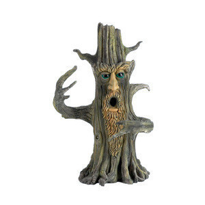 Unique Design Man Tree Style Resin Incense Burner