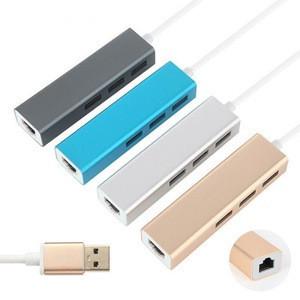 USB 3.0 Gigabit Ethernet Adapter With 3 Port Hub to RJ45 Lan Network Port Card For Win 7 8 Mac OS XXM8